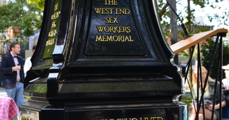 West End Sex Workers Memorial