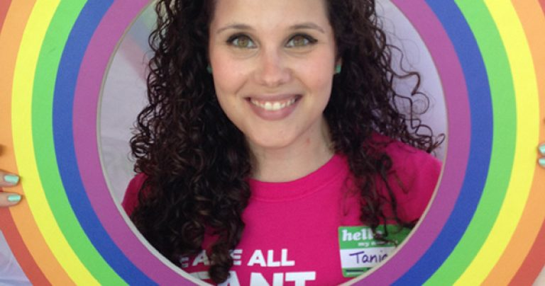 February Volunteer of the Month: Tania B.!