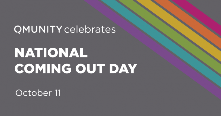 October 11 is National Coming Out Day