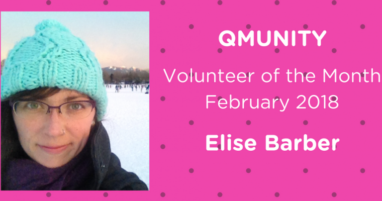 February Volunteer of the Month – Elise Barber