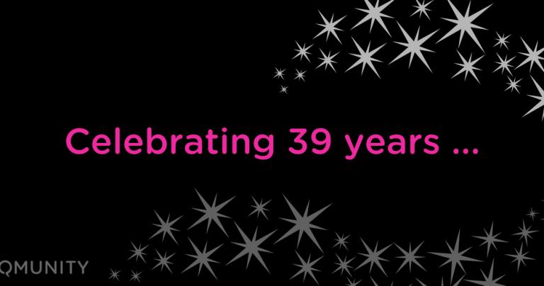 Celebrating 39 years…