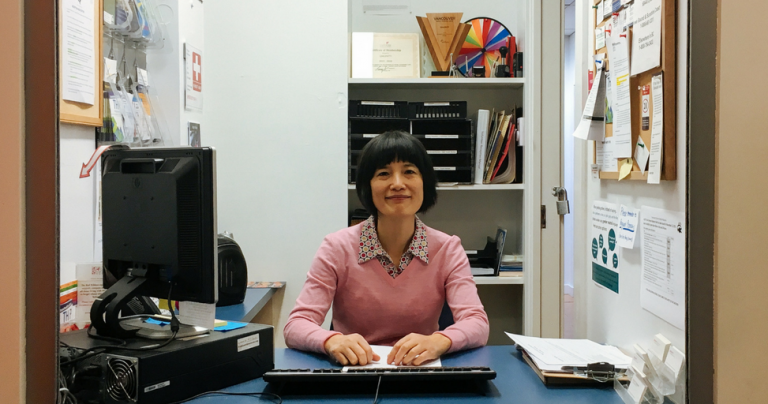 Julie Zhu, Q's June Volunteer of the Month