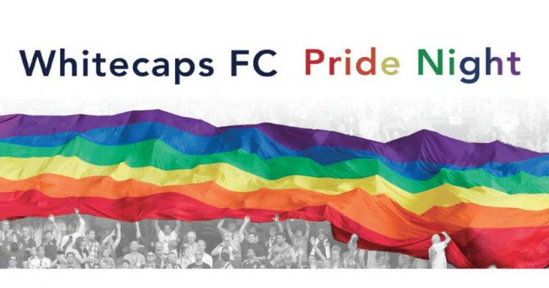 Whitecaps FC Pride Night – July 28