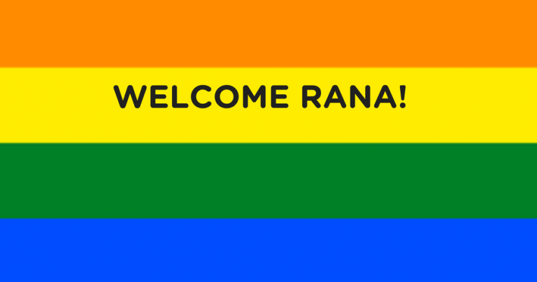 Welcome Rana!