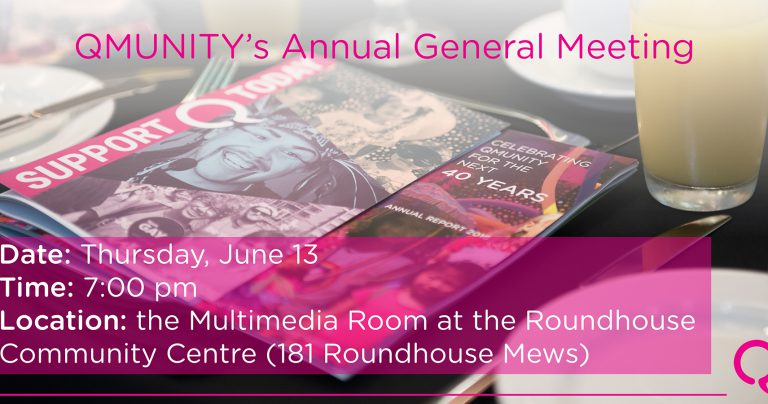 QMUNITY's Annual General Meeting 2019